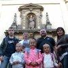 Výlet s dětmi z Náboženství. Za odměnu do Prahy. Organizovala to sestra Imelda.