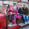Lidé a zvláště děti si mohli některá hasičská vozidla osahat a vyzkoušet.