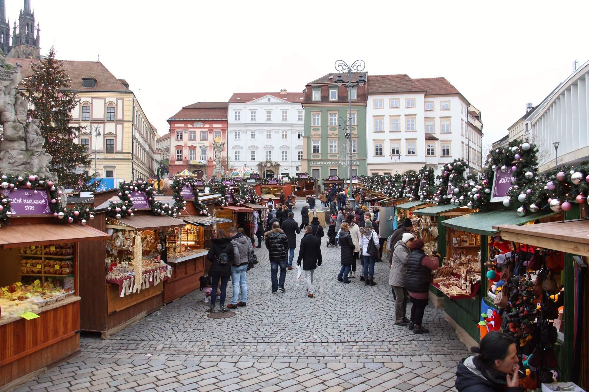 Zelný trh vánoce