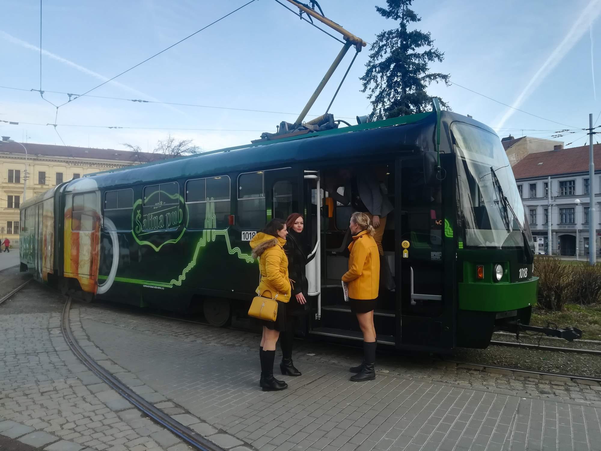 Šalina pub vyjede ulicemi Brna už tuto středu. Foto: Anna Viktorinová
