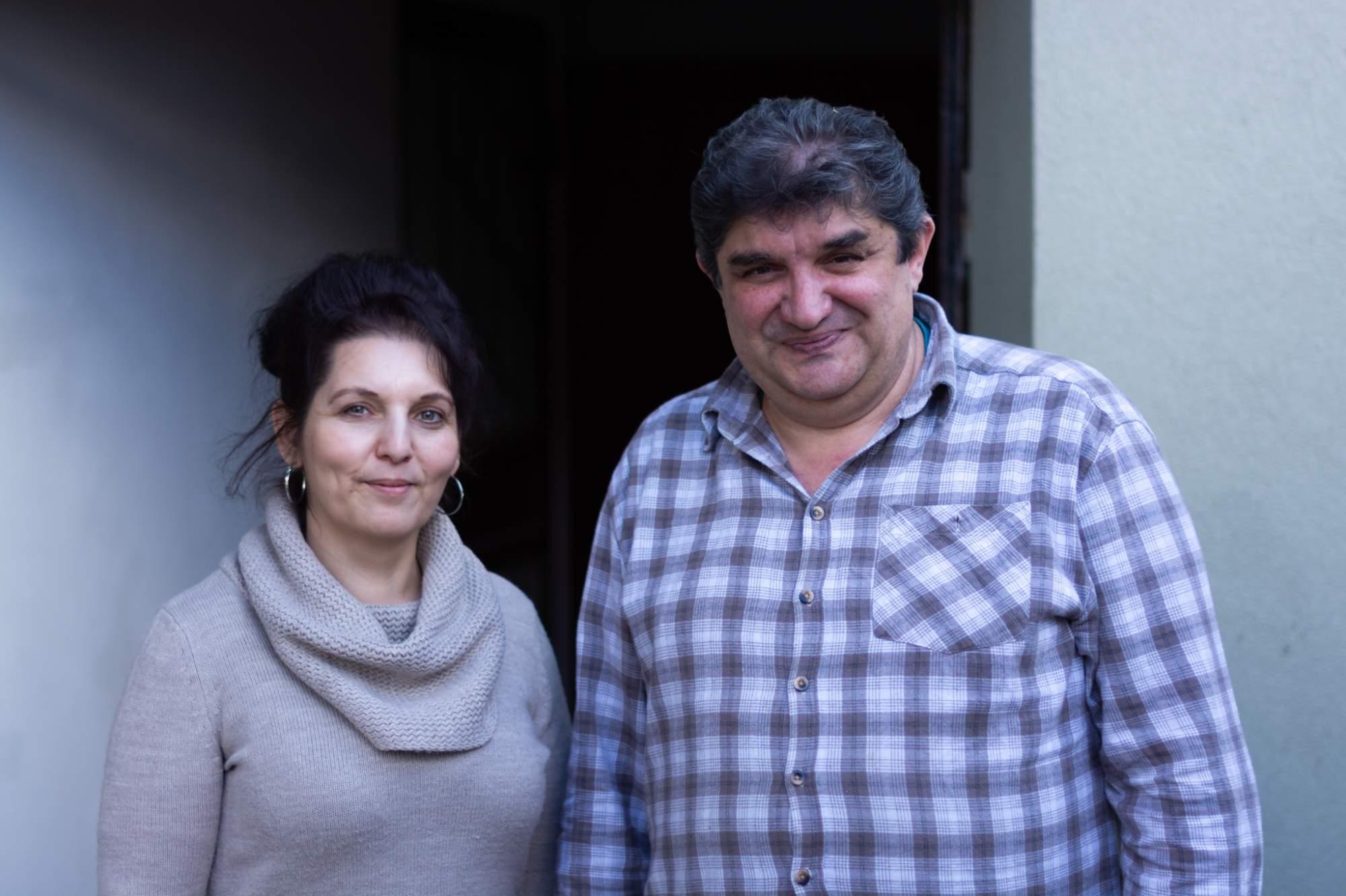 Matěj Nový s manželkou Kristýnou. Autor: Anna Viktorinová