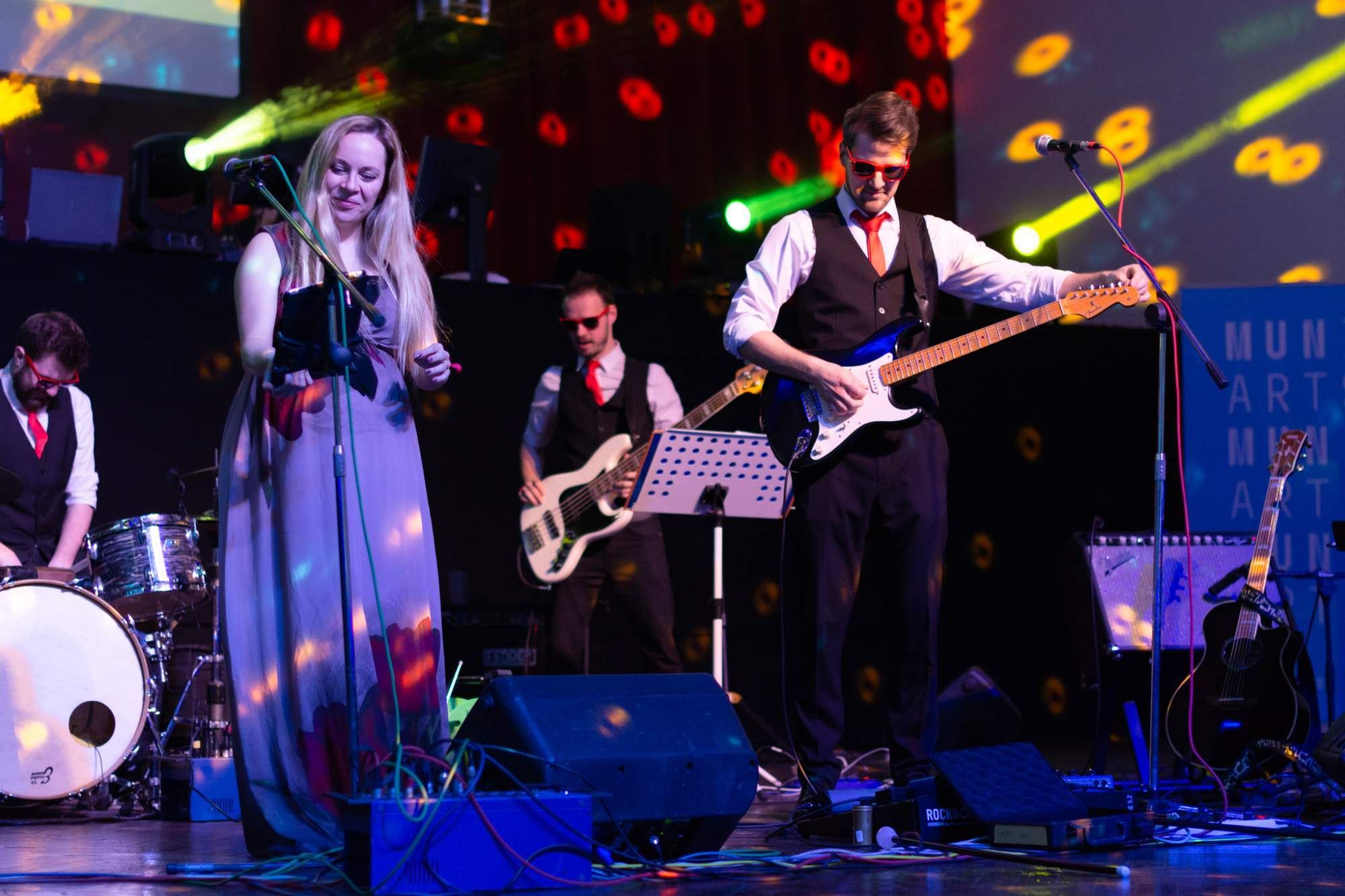 K tanci a poslechu hrála skupina Partyleaders. Autor: Anna Viktorinová