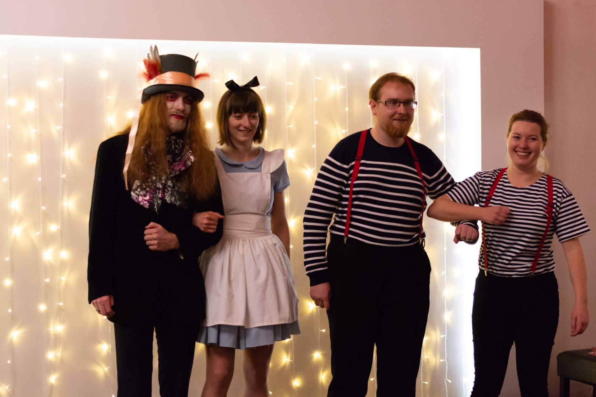 Fotokoutek na plese. Autor: Anna Viktorinová