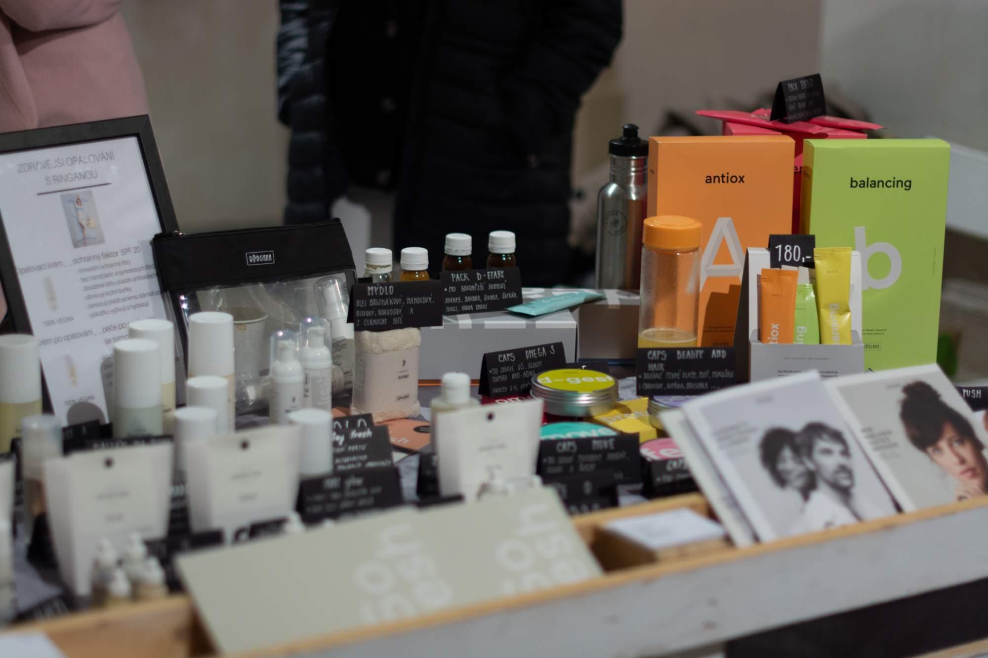 Přírodní kosmetika. Foto: Anna Viktorinová