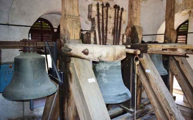 zvony sv. Anežka, sv. Vavřinec, Panna Maria