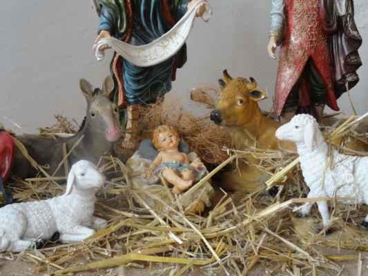 Narození Ježíška patří ke stěžejním motivů betlémů