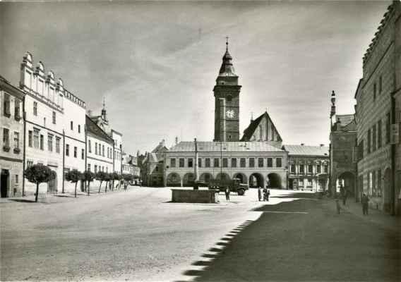 r. 1965_Mírové náměstí Slavonice