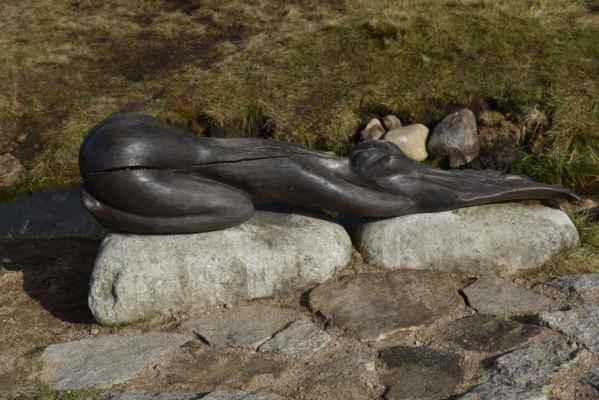 V roce 2006 byla k prameni instalována dřevořezba Alegorie vody, socha ve tvaru ženského těla.