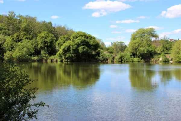 Pohled na Malý rybník