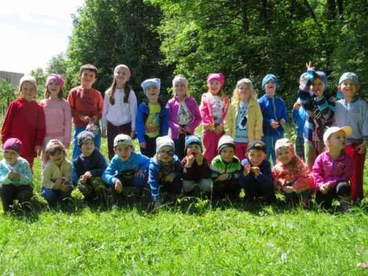 Den dětí - zelená třída