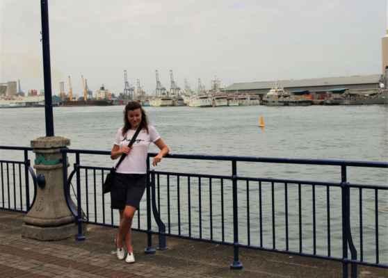 přístav v Port Louis - hlavním městě