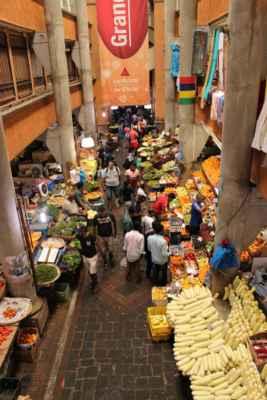 trhy s ovocem a zeleninou v hlavním městě