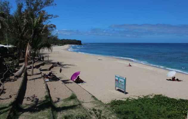 ve všední den jsou pláže poloprázdné