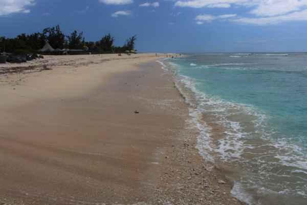 prázdné pláže