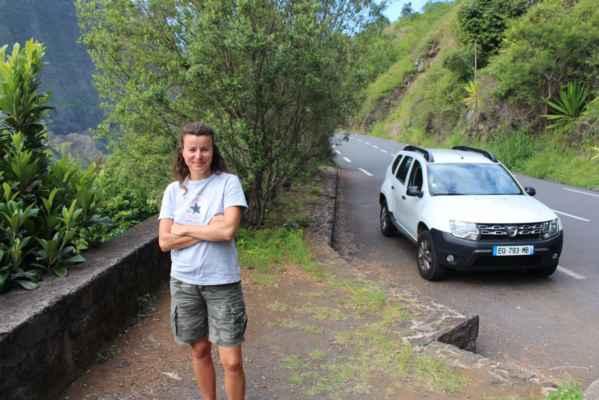 výlet na další vrchol Reunionu - městečko Cilaos