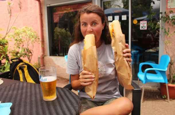 a Radunka 2 velké bagety :-)