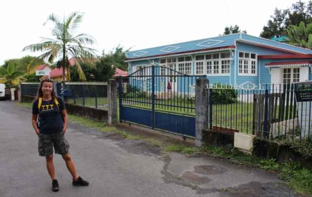 v centru městečka Hell-Bourg jsou samé kreolské domky