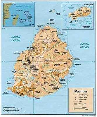 mapa Mauritia