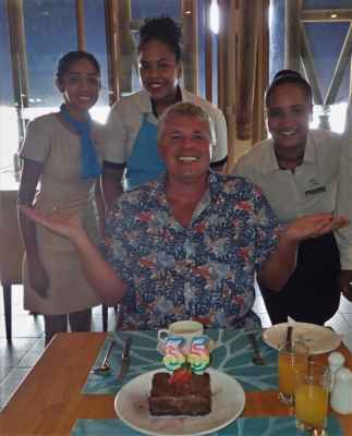 gratulace a dort nesměl chybět :-)