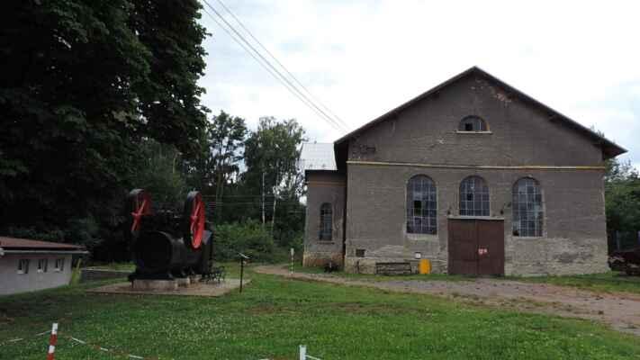 Budova bývalé elektrárny.
