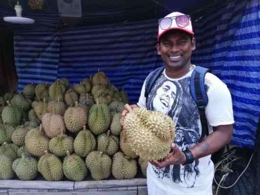 Shanaka a durian.