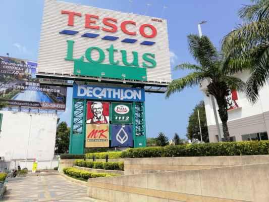 Tesco Lotus - rádi zde nakupujeme.