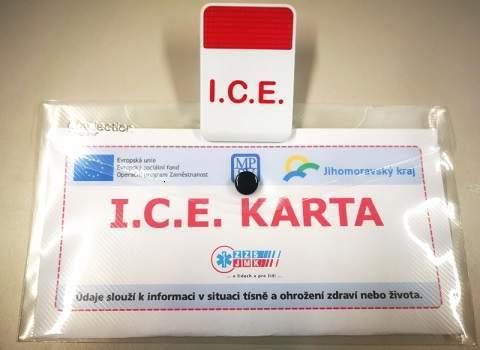 I.C.E karta schovává nezbytné informace o pacientovi Foto: Foto: Zdravotnická záchranná služba Jihomoravského kraje