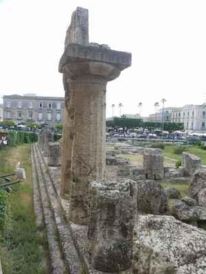 Apollónův chrám v Syrakusách