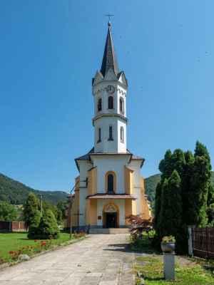 Farský kostol Božského Srdca Ježišovho v Stankovanoch
