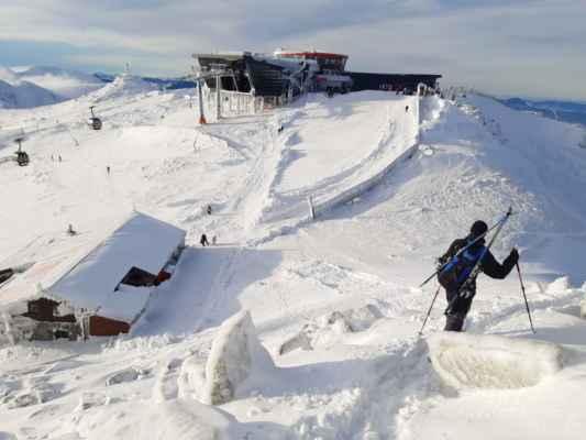 z Kamienky spravili jedáleň pre lyžiarov :/