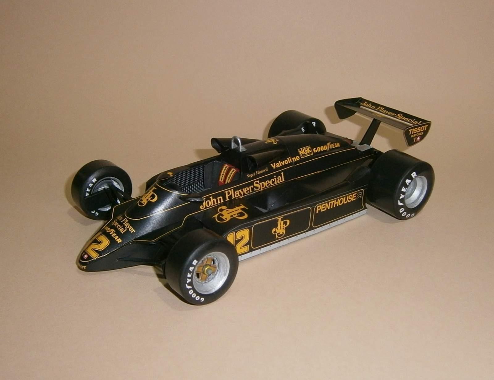 Lotus 91 - N.Mansell, GP Austrian 1982
