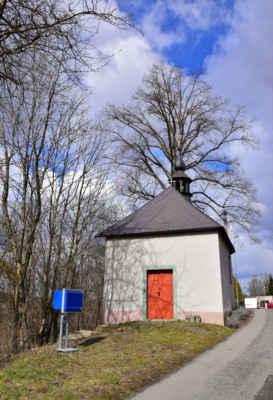 Lhotka - kaple sv. Barbory