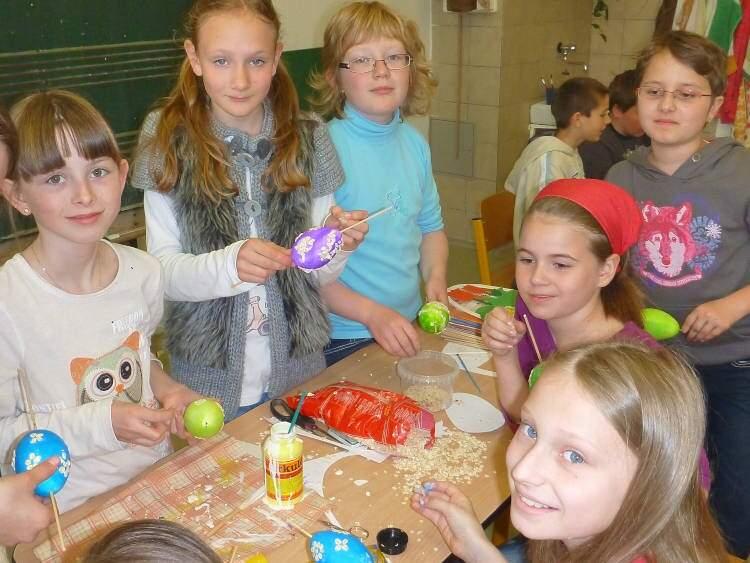 Velikonoční dílny ve 4.třídě
