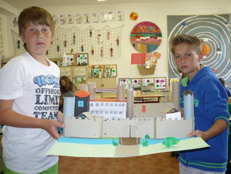 Modely hradů