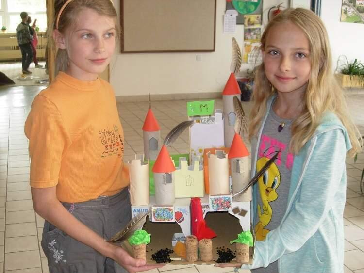 Modely hradů ve 4.třídě